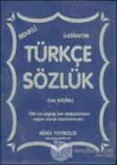 Türkçe Sözlük (Plastik Kapak)