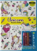 Unicorn Boyama Kitabı - Minik Ressamlar