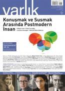 Varlık Edebiyat ve Kültür Dergisi Sayı: 1346 Kasım 2019