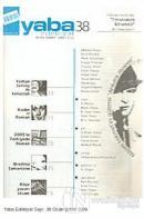 Yaba Edebiyat Dergisi Sayı: 38