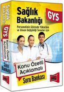 Yargı 2015 GYS Sağlık Bakanlığı Konu Özetli Soru Bankası
