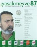 Yasakmeyve İki Aylık Şiir Dergisi Sayı: 87 Temmuz-Ağustos 2017