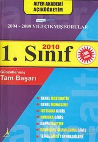1. Sınıf 2004-2009 Paralelinde Çıkmış Sorular