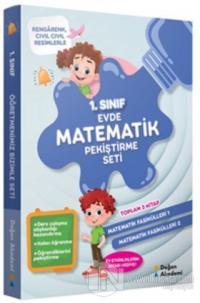 1.Sınıf Evde Matematik Pekiştirme Seti (3 Kitap Takım)