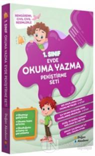 1.Sınıf Evde Okuma Yazma Pekiştirme Seti (10 Kitap Takım)