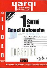 1. Sınıf Genel Muhasebe %10 indirimli Mustafa Gümüş