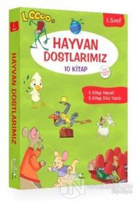 1. Sınıf Hayvan Dostlarımız Serisi (10 Kitap Takım)