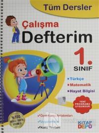 1. Sınıf Tüm Dersler Çalışma Defterim