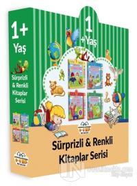 1+ Yaş Sürprizli ve Renkli Kitaplar Serisi (4 Kitap Set) (Ciltli)