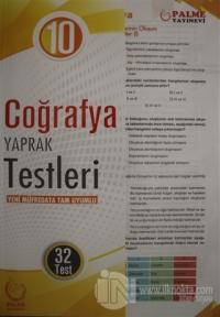 10. Sınıf Coğrafya Yaprak Testleri