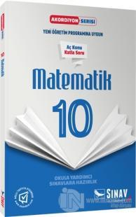 10. Sınıf Matematik Akordiyon Serisi