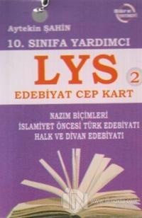 10. Sınıfa Yardımcı LYS Edebiyat Cep Kart 2