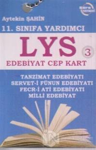11. Sınıfa Yardımcı LYS Edebiyat Cep Kart 3