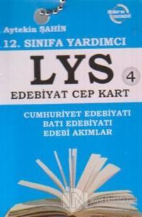 12. Sınıfa Yardımcı LYS Edebiyat Cep Kart 4