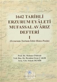 1642 Tarihli Erzurum Eyaleti Mufassal Avarız Defteri 1 (Ciltli)