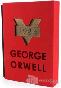 1984 (Kırmızı Kutulu Özel Baskı) (Ciltli) %25 indirimli George Orwell
