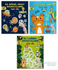 2-4 Yaş Evde Etkinlik Seti - Mucit Karınca Serisi YAZ-SİL Kitaplar 2. Seri