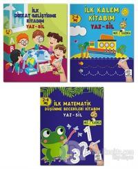 2-4 Yaş Evde Etkinlik Seti - Mucit Karınca Serisi YAZ-SİL Kitaplar