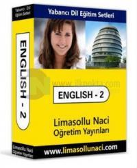 Limasollu Naci 2. Kur Speak English-Better İngilizce Eğitim Seti