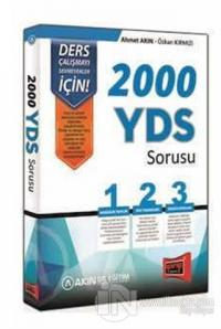 2000 YDS Sorusu 2014