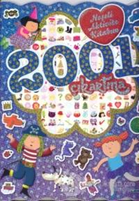 2001 Çıkartma - Neşeli Aktivite Kitabım