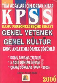 2006 KPSS Eğitim BilimleriGenel Yetenek Genel Kültür