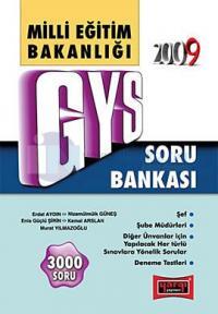 2009 GYS Milli Eğitim Bakanlığı Soru Bankası
