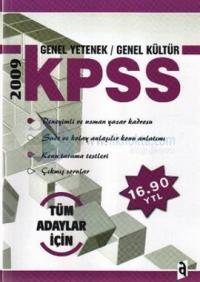 2009 KPSS Genel Kültür - Genel Yetenek