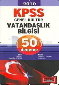 2010 KPSS Genel Kültür Vatandaşlık Bilgisi 50 Deneme