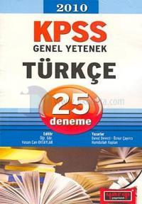2010 KPSS Genel Yetenek Türkçe 25 Deneme