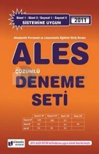 2011 ALES Çözümlü Deneme Seti