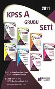 2011 KPSS A Grubu Seti (7 Kitap Takım)