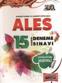 2012 ALES 15 Fasikül Deneme Sınavı