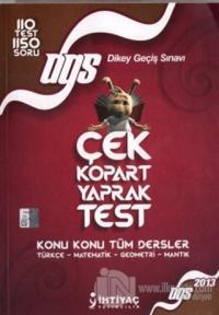 2013 DGS Çek Kopart Yaprak Test