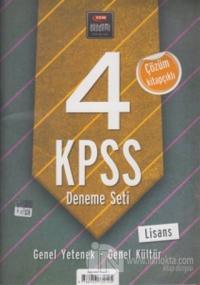 2013 KPSS Genel Yetenek - Genel Kültür Deneme Seti (4'lü)