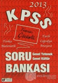 2013 KPSS Tamamı Çözümlü Türkçe - Matematik - Tarih - Coğrafya - Anaya