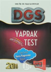 2014 DGS Yaprak Test