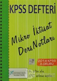 2014 KPSS Defteri Mikro İktisat Ders Notları