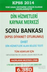 2014 KPSS Din Hizmetleri Alan Bilgisi Testi Dhbt Mbsts Soru Bankası Mu