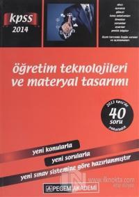 2014 KPSS Öğretim Teknolojileri ve Materyal Tasarımı Kolektif
