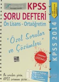 2014 KPSS Soru Defteri Ön Lisans - Ortaöğretim