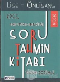 2014 KPSS Soru Tahmin Kitabı Lise - Önlisans Genel Yetenek Genel Kültür Tamamı Çözümlü