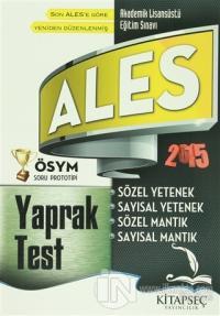 2015 ALES Yaprak Test
