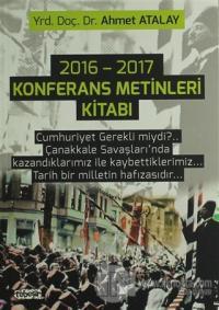 2016 - 2017 Konferans Metinleri Kitabı