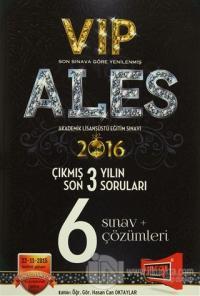 2016 ALES VIP Son 3 Yılın Çıkmış Soruları 6 Sınav + Çözümleri
