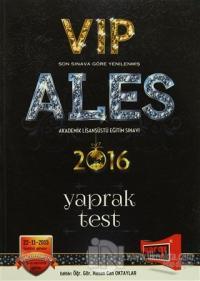2016 ALES VIP Yaprak Test