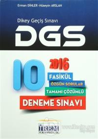 2016 DGS Tamamı Çözümlü 10 Fasikül Deneme Sınavı