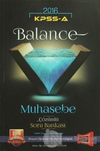 2016 KPSS A Grubu Balance Muhasebe Çözümlü Soru Bankası
