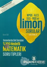 2016 KPSS-ALES-DGS-YGS'ye Çözümlü Limon Sorular