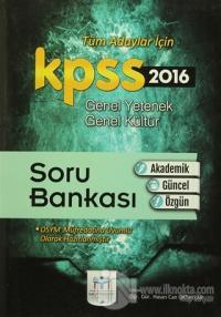 2016 KPSS Genel Yetenek Genel Kültür Soru Bankası